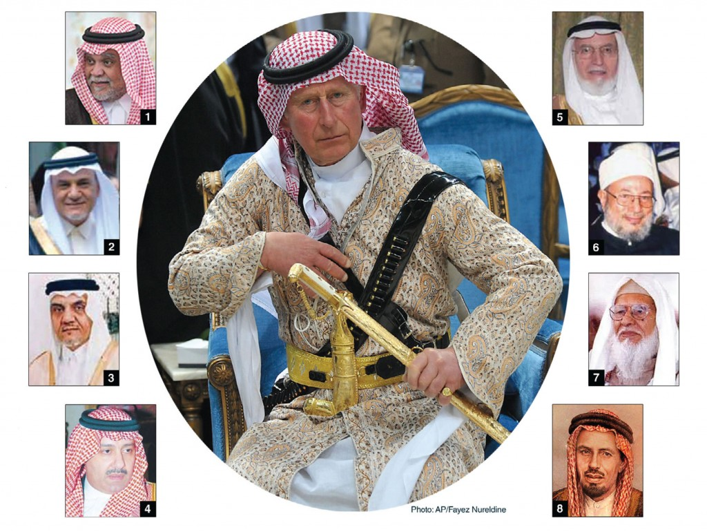 The Friends of Prince Charles (centre) in the Saudi Cabal Behind al-Qaeda/ISIS